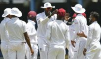West Indies beat the Lions in 1st Test