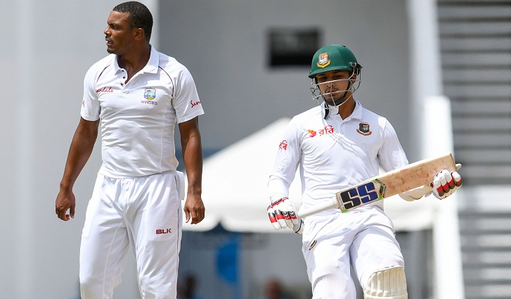 Bangladesh faced defeat in 1st Test