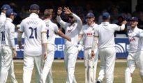 India scored 395 runs against Essex