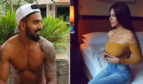 Indian cricketer KL Rahul exchanges flirty messages with Bollywood actress Sonam Bajwa on social ...