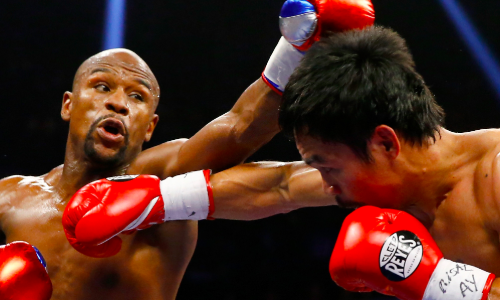 Manny Pacquiao wants the second fight against Floyd Mayweather