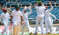 West Indies won Test series against Bangladesh