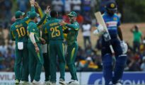 South Africa won by 4 wickets