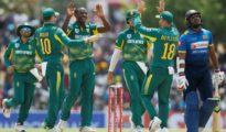 South Africa won by 5 wickets