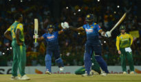Sri Lanka won T20I match against Proteas
