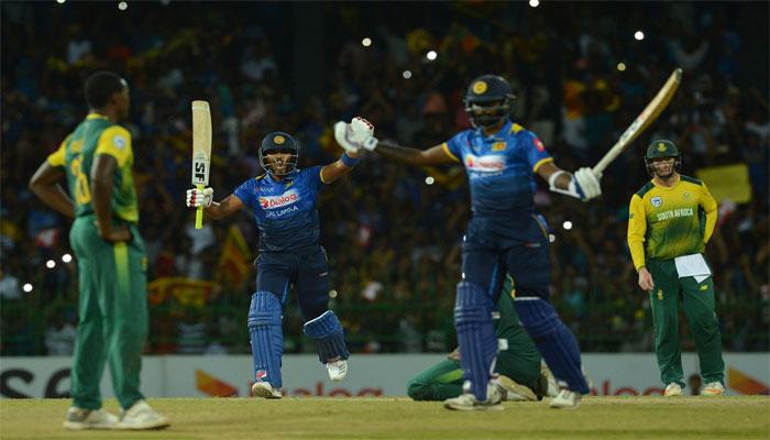 Sri Lanka won T20I match against Proteas