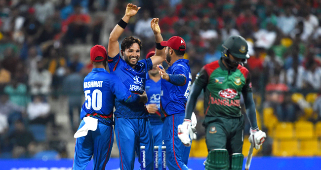 Afghanistan won by 136 runs