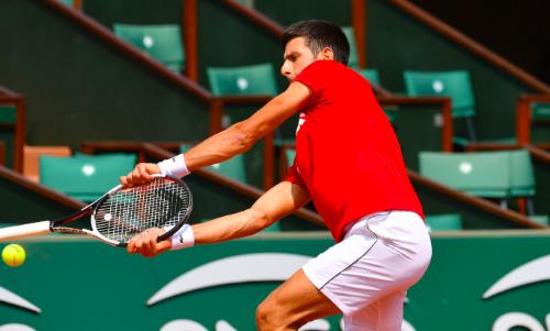 Watch Novak Djokovic Accidentally Hits Ball Boy At Italian Open Apologises With High Five Tsm Plug
