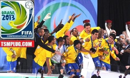 Brazil vs Spain Highlights 2013