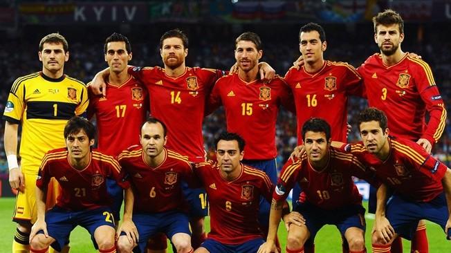 Spanish 23 Man Squad 2014