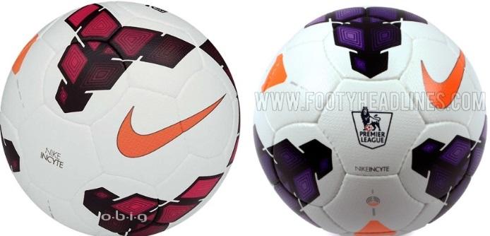 Nike Incyte Premier League balls 2014