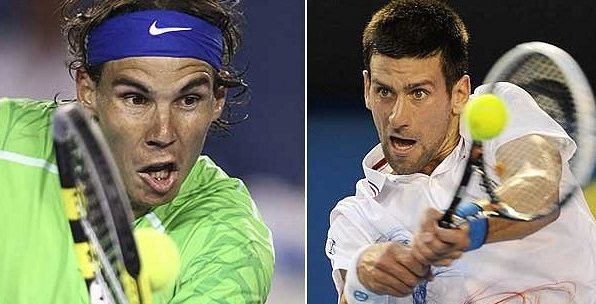Image result for Rafael Nadal vs Novak Djokovic live