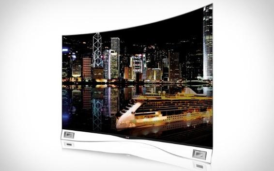 LG OLED Screen TV 2013