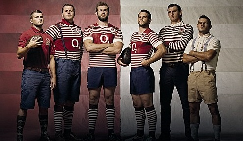 England Rugby Kits 2014