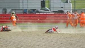 Marc Marquez crash video