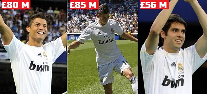 Real Madrid most expensive signings