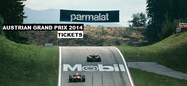 Formula 1 Austrian Grand Prix TIckets