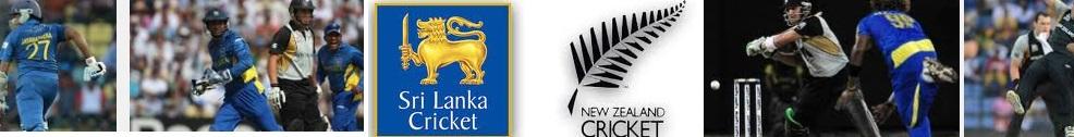 Sri Lanka vs New Zealand 2013 schedule