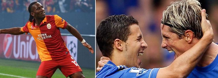 Chelsea vs Galatasaray 2014 1st leg 2nd leg