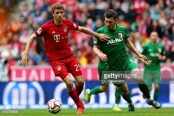 Image result for Bayern Munich vs FC Augsburg live
