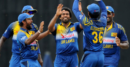 Sri Lanka got 1st victory in Tri Nation series