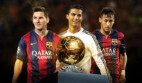 Messi, Ronaldo & Neymar in battle for Ballon d'Or