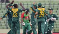 South Africa beat Bangladesh by 10 wickets at Kimberley