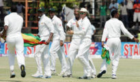 The match between West India and Zimbabwe A finished with draw