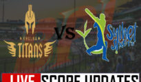 Khulna Titans won against Rajshahi by 2 wickets