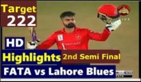 Lahore Blues won by 10 runs