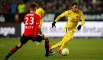 PSG beat Rennes at Roazhon Park