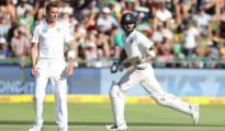 India scored 209 runs in 1st innings against Proteas