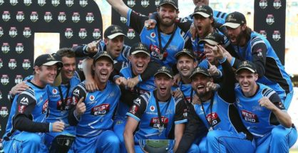 Adelaide Strikers won their first title