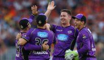 Hobart Hurricanes won 1st semi final
