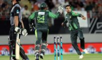 Pakistan managed 1st victory against Black Caps