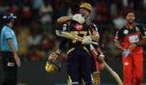 Chris Lynn saved Kolkata Knight Riders at Bangalore