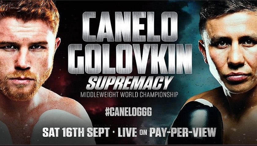 Image result for Golovkin vs Alvarez Live Fight 2018