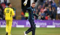 England won by 38 runs at Cardiff
