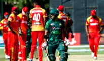 Pakistan won by 74 runs at Harare