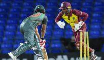 West Indies won 1st T20I against Bangladesh